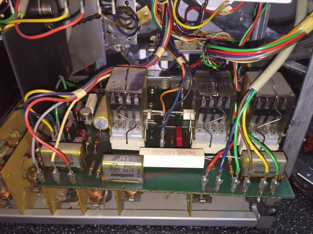 ReVox A77 Laufwerksteuerung
