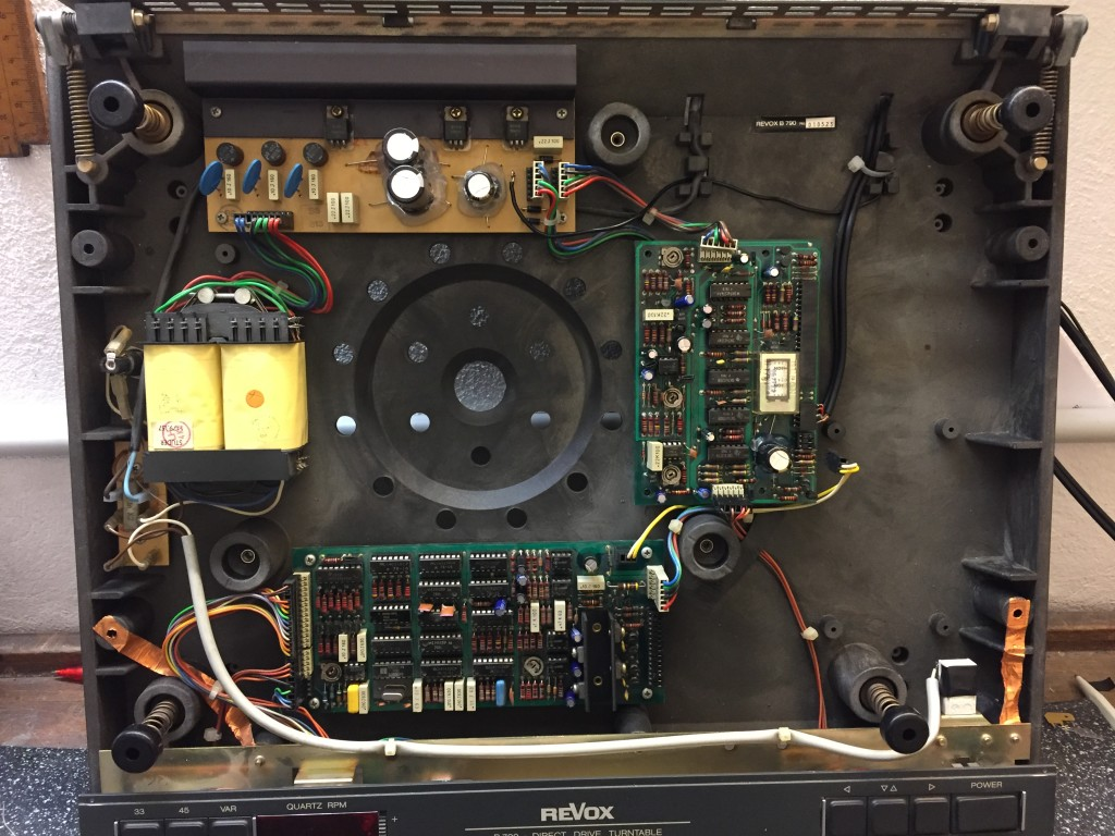 ReVox B790 Revision ICs