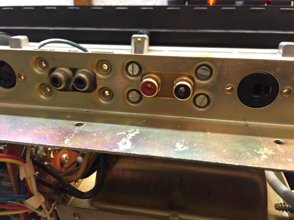 ReVox neue Cinch Buchsen in A77