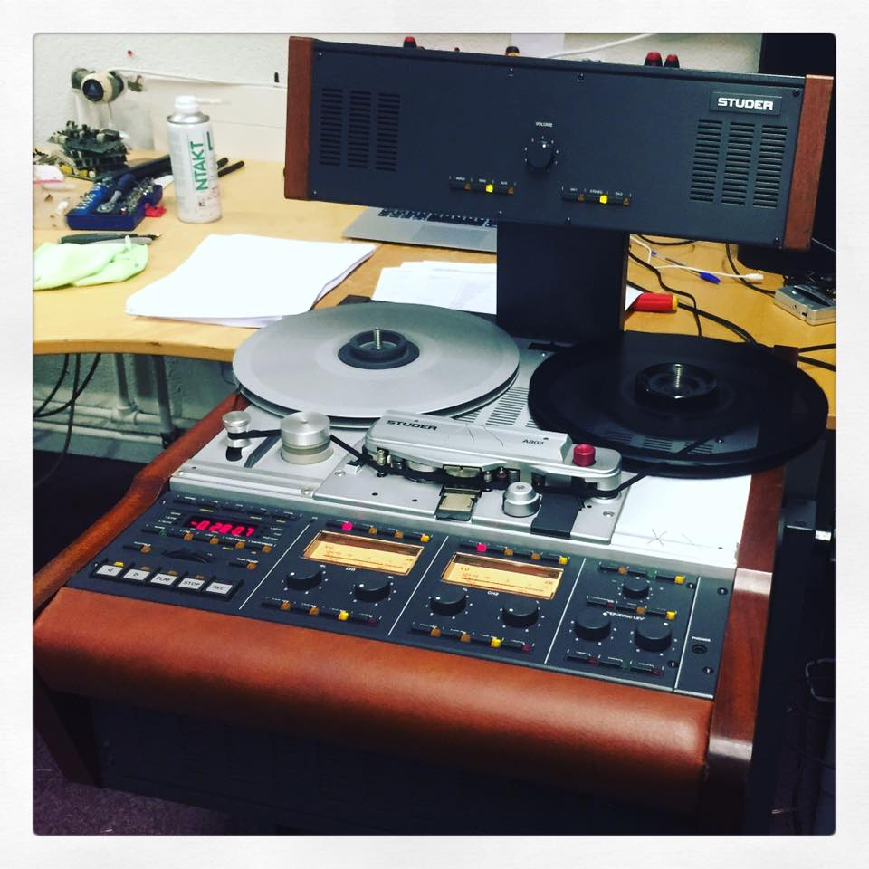 Studer A807 Revision