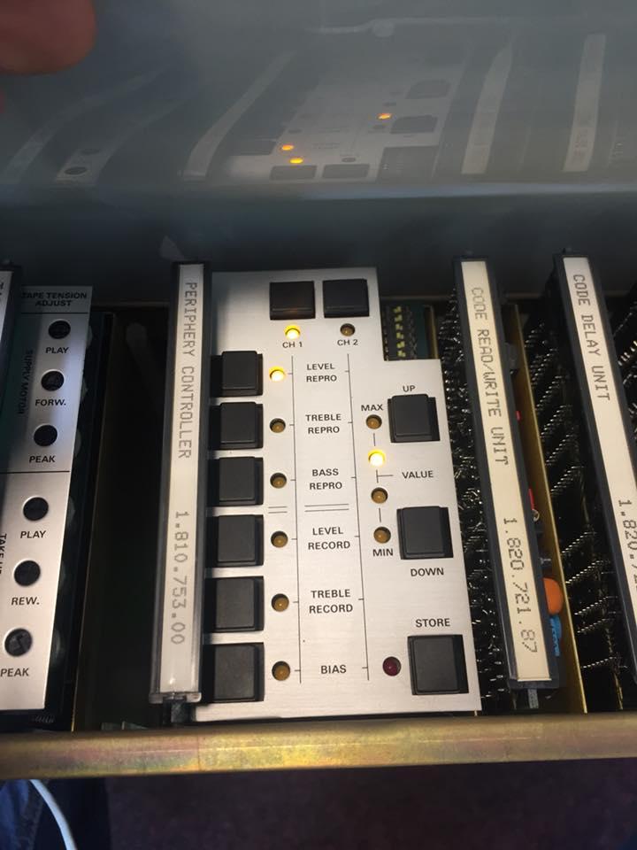 Studer A810 Tonbandmaschine Revision Reparatur 11