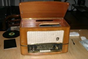 Röhrenradio Reparatur