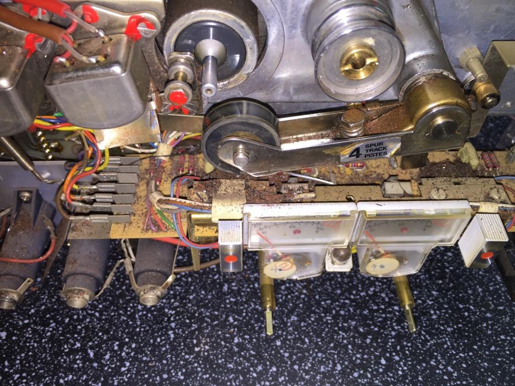 ReVox A77 Laufwerk