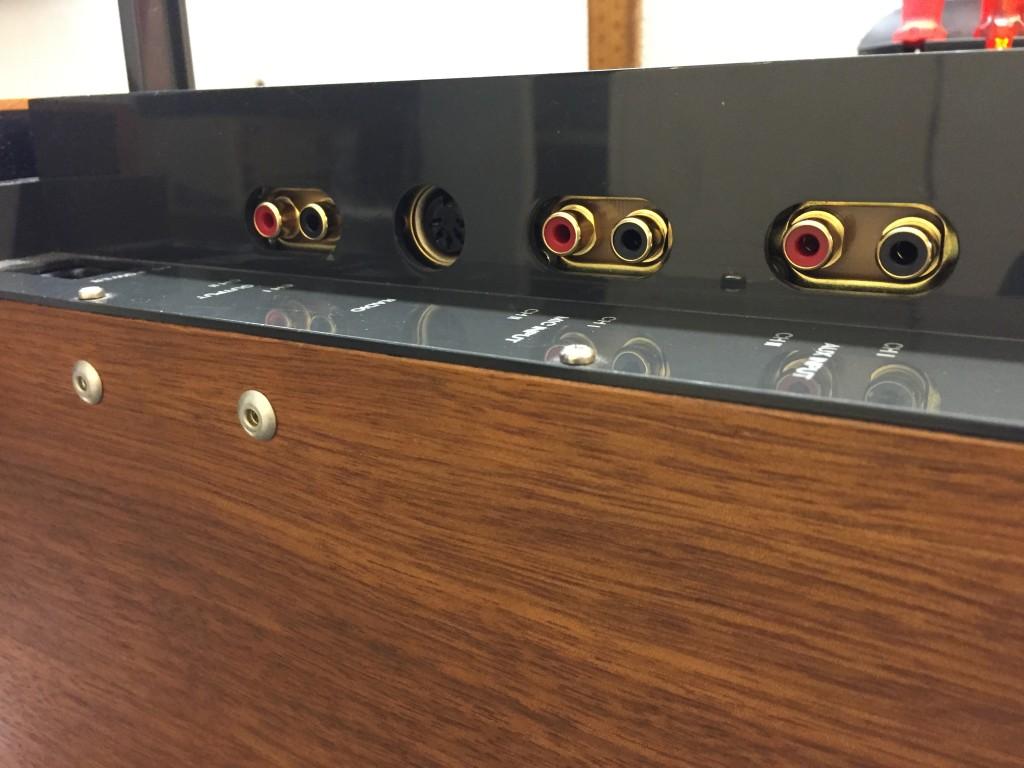 ReVox A77 Cinch Buchsen vergrössern