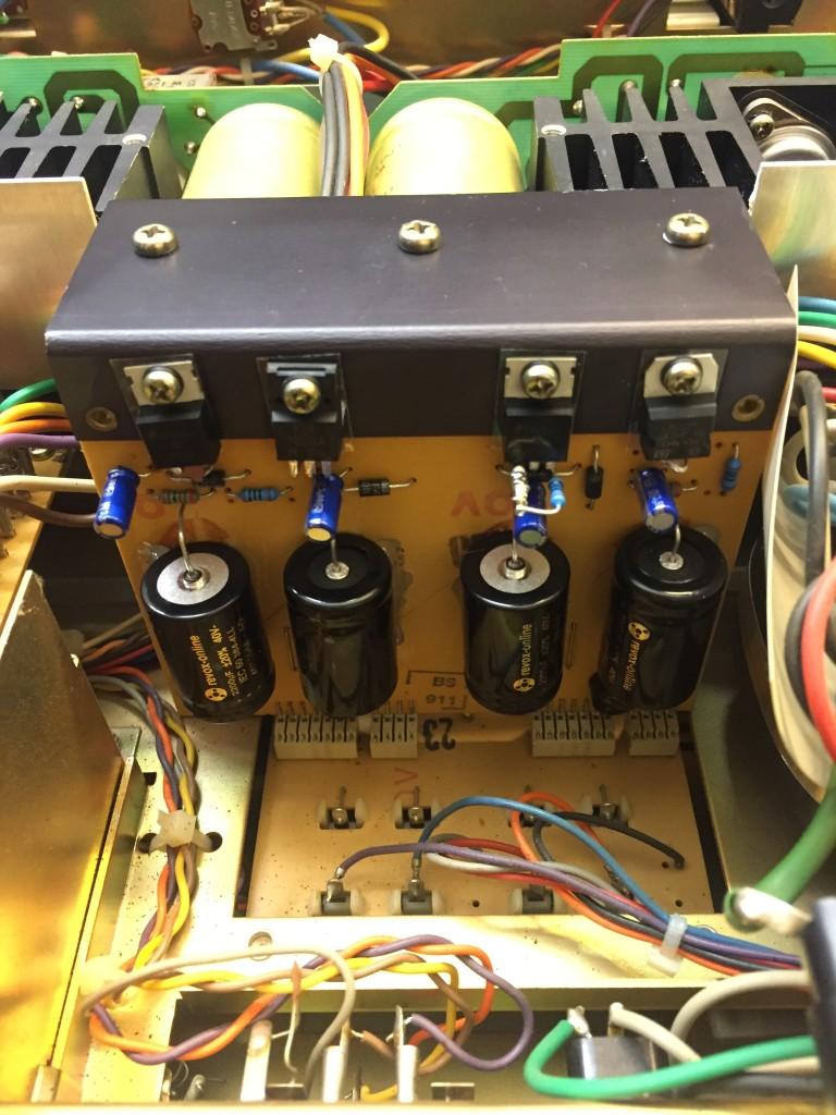 ReVox B750 Netzteil revision