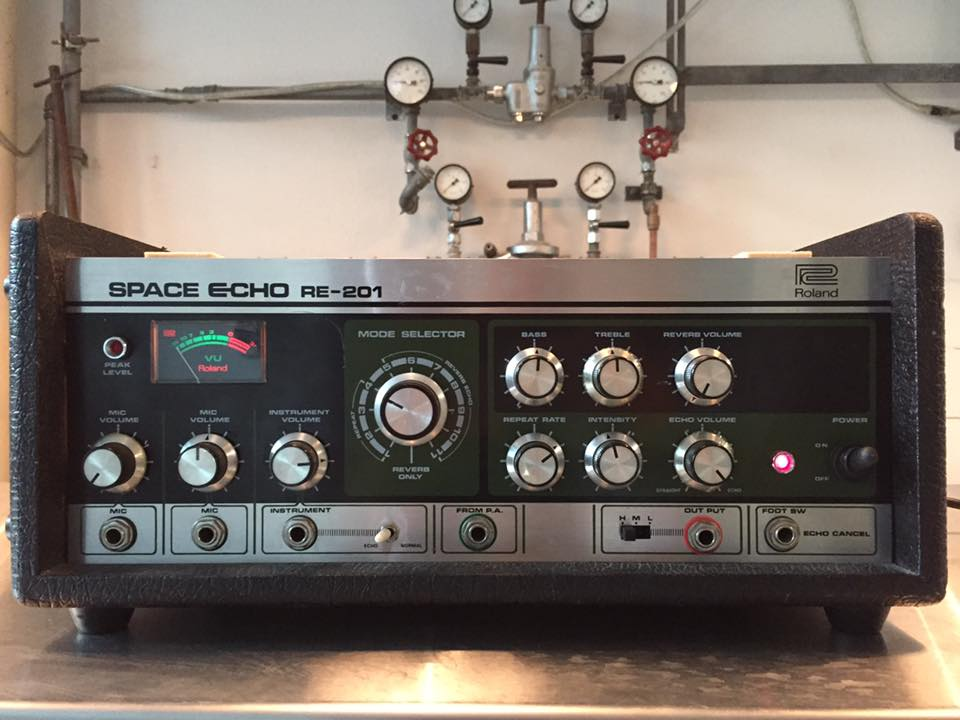Roland re-201 space echo reparatur9