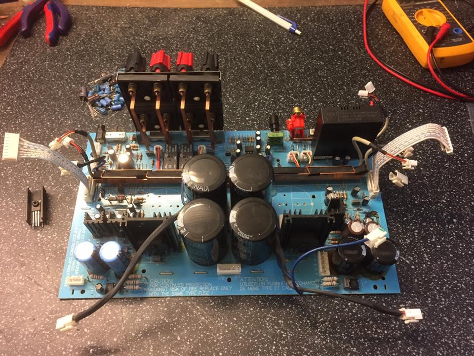 NAD C272 Reparatur