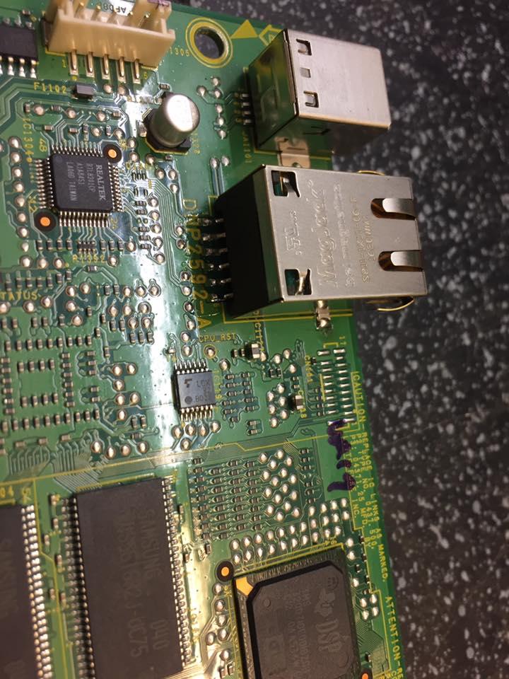 PIONEER Netzwerkstecker Reparatur CDJ-900