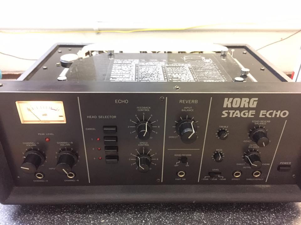Korg Stage Echo Revision Reparatur 1