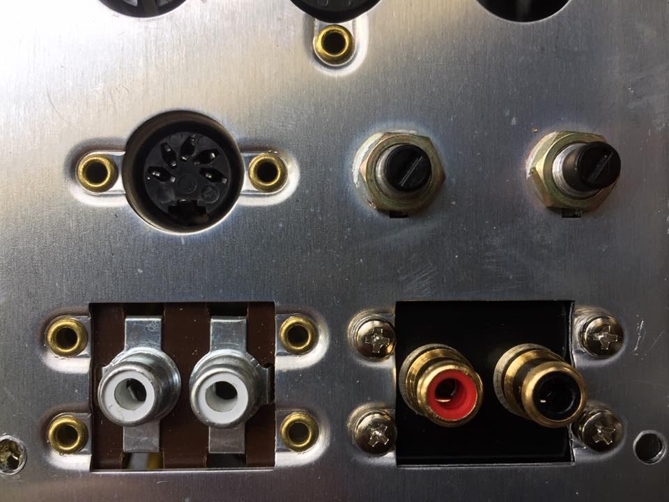 ReVox B77 A77 Cinch Buchsen ersetzen