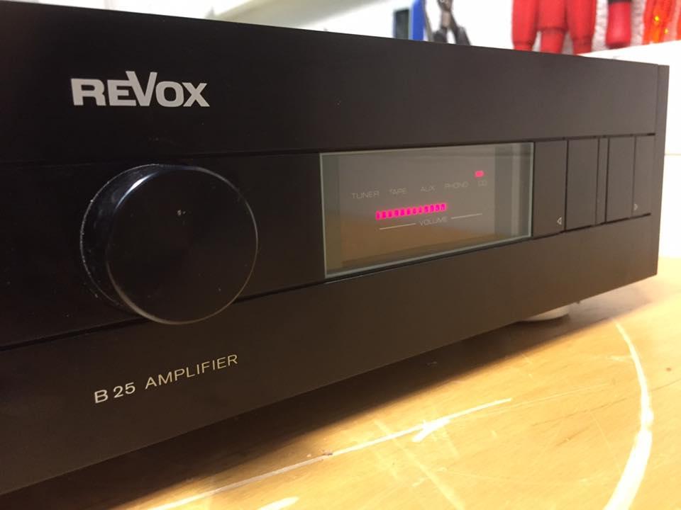 ReVox B25 kein ton rearatur 1