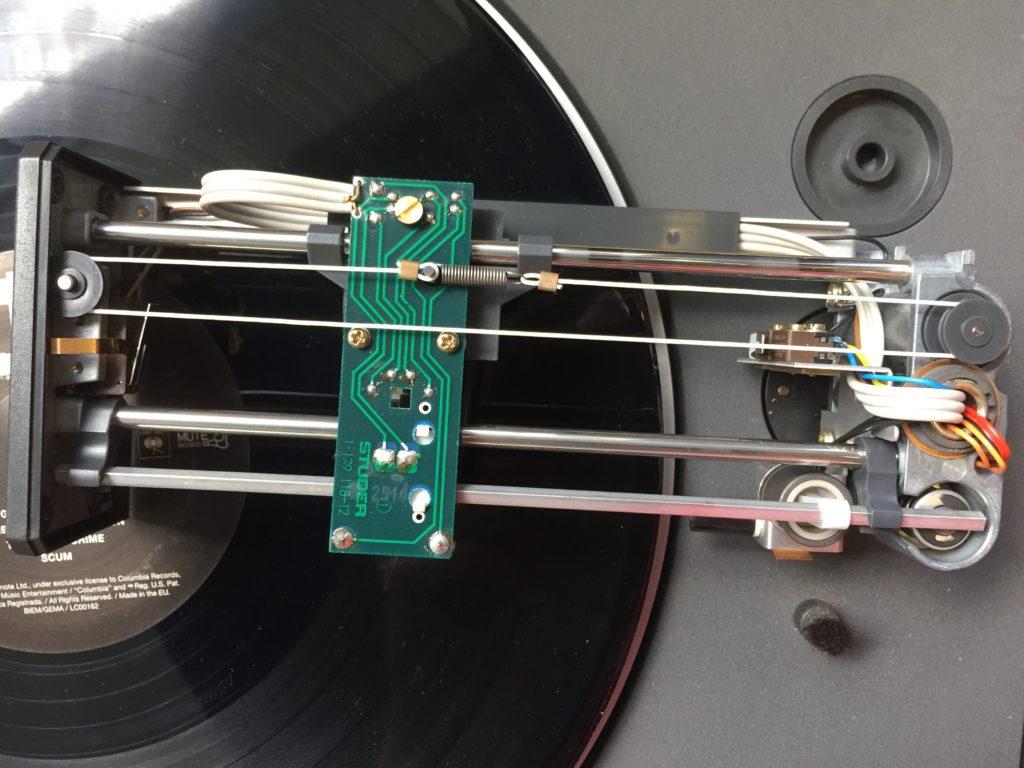 ReVox B795 B791 B790 Plattenspieler Linatrac