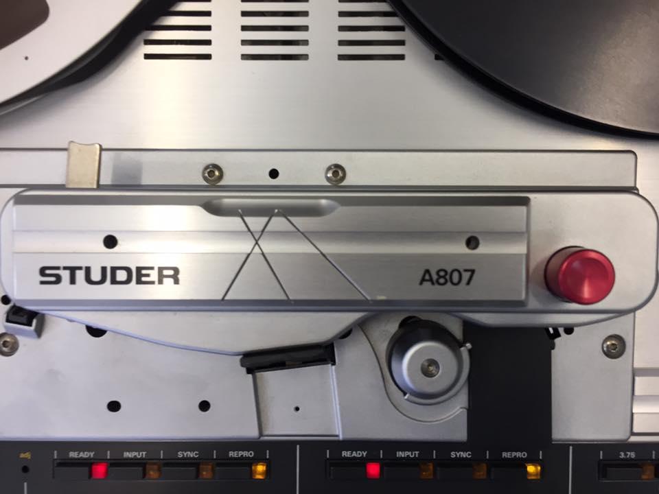 ReVox Studer A807 revision