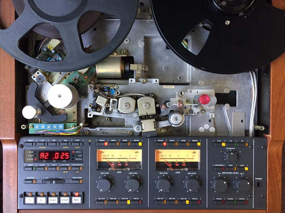 Studer A807 Revision – Der Reparateur – Repariert Elektronik
