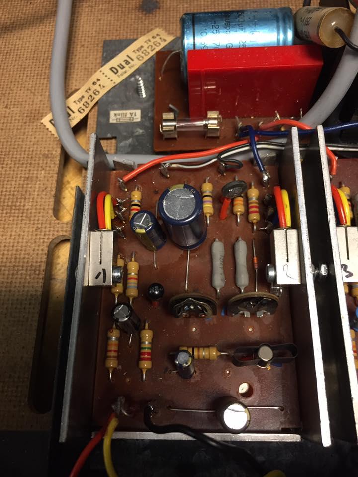 Dual HS 34 Plattenspieler Reparatur 2