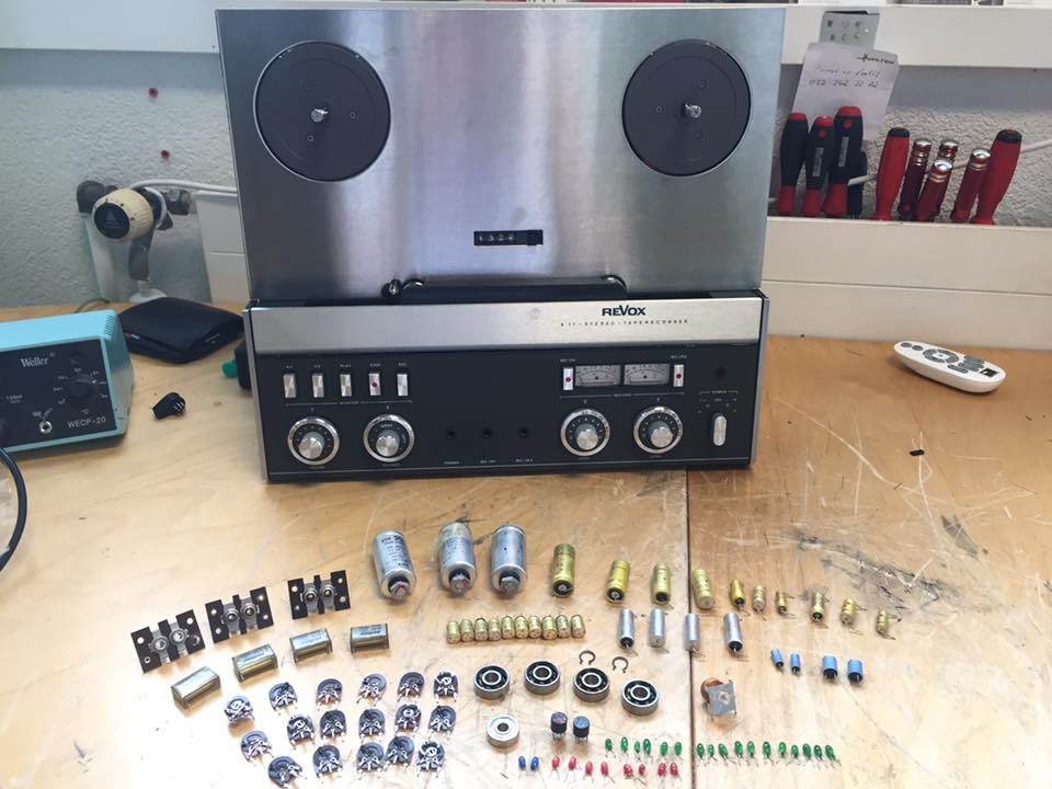 ReVox A77 High Speed Umbau reparatur revision