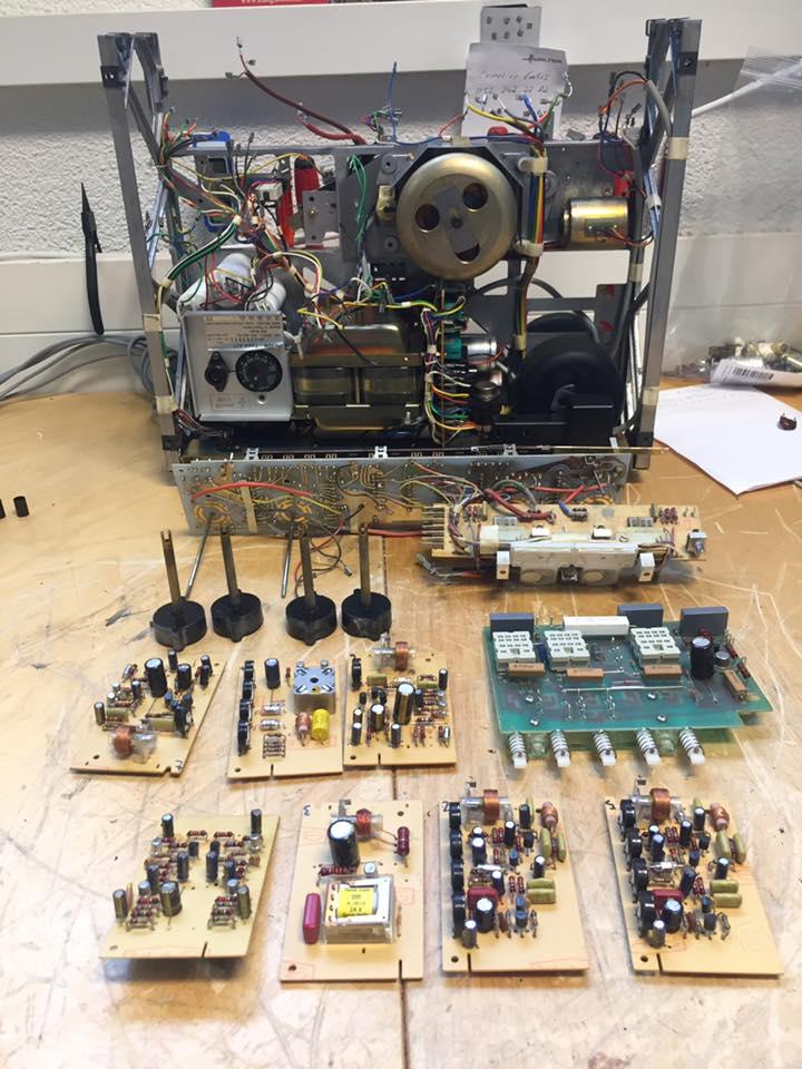 ReVox A77 komplett revision reparatur