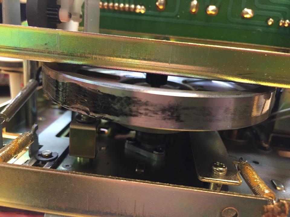 TEAC A-700 Riemen Reparatur