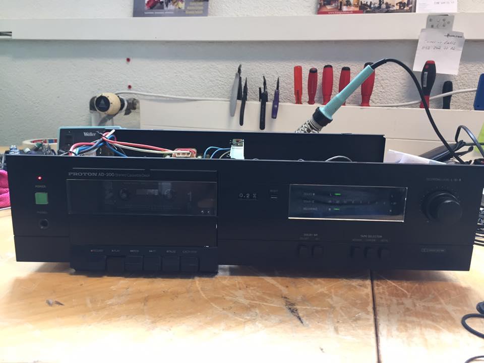 proton ad-200 reparatiur riemen ersetzen