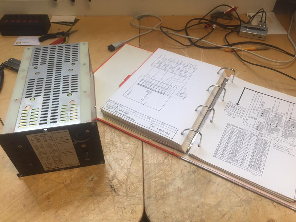 Studer 963 Mischpult Netzteil Reparatur