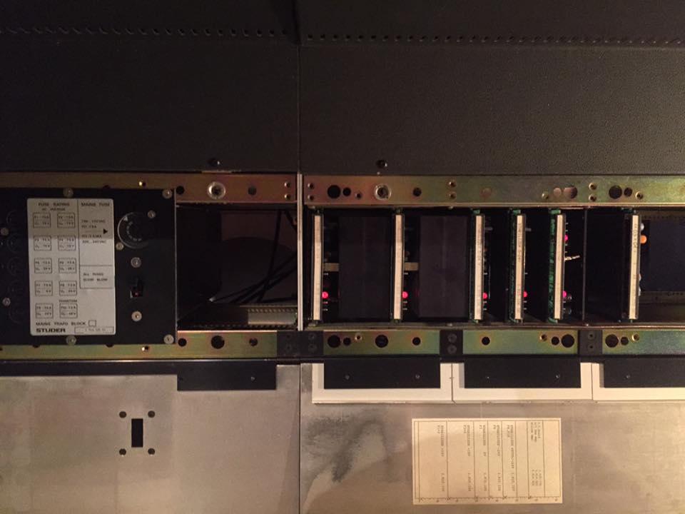 studer 963 Mischpult netzteil stabilizer reparatur revision