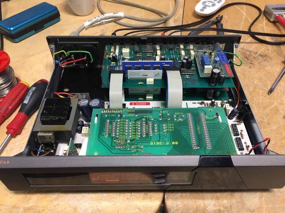 QUAD 66 Verstärker reparatur schaltet aus 2