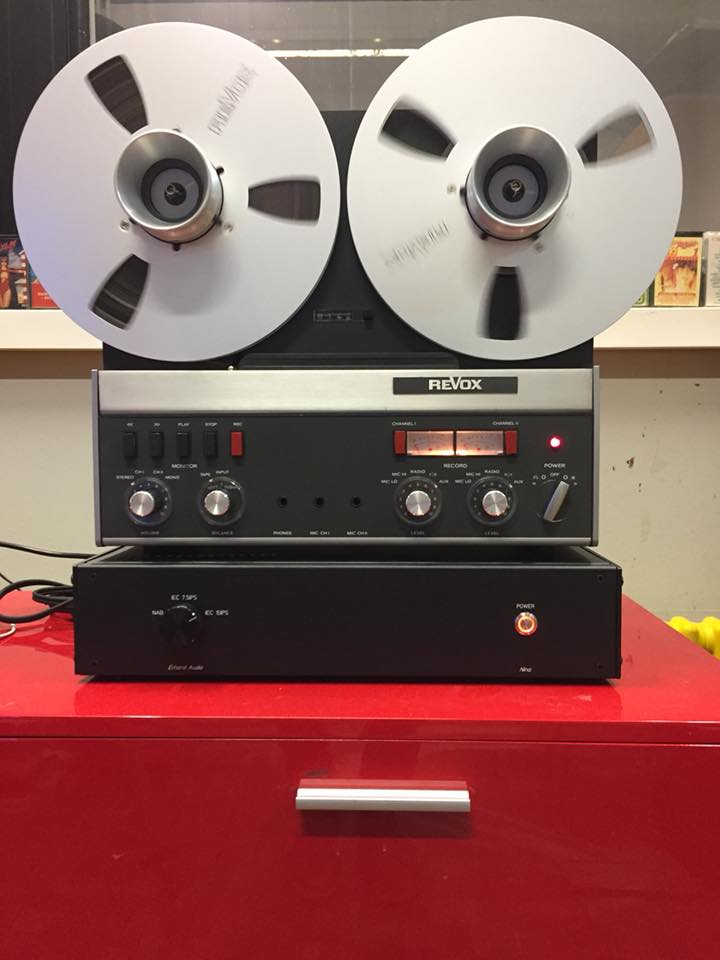 ReVox A77 direct out tube Amp Röhrenverstärker