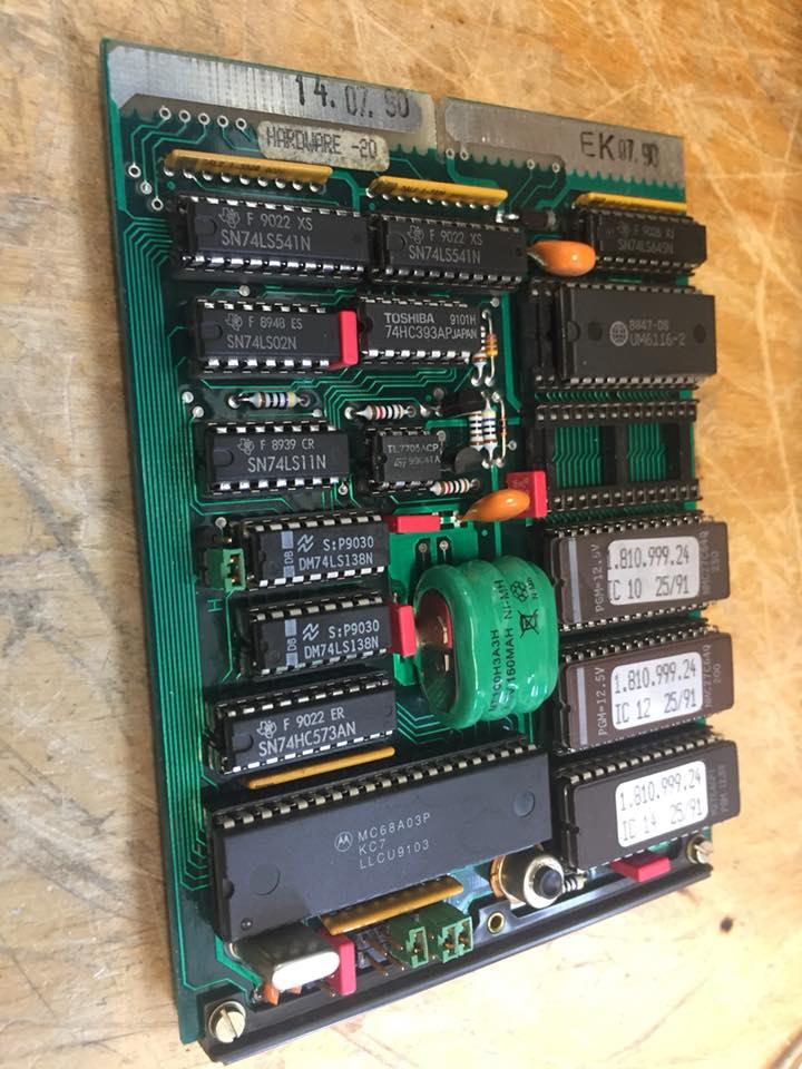 Studer A810 Batterie ersetzen tauschen Tonbandmaschine Revision Reparatur 11