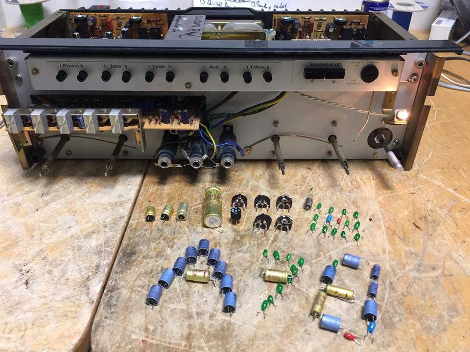 revox a78 reparatur revision einmessen