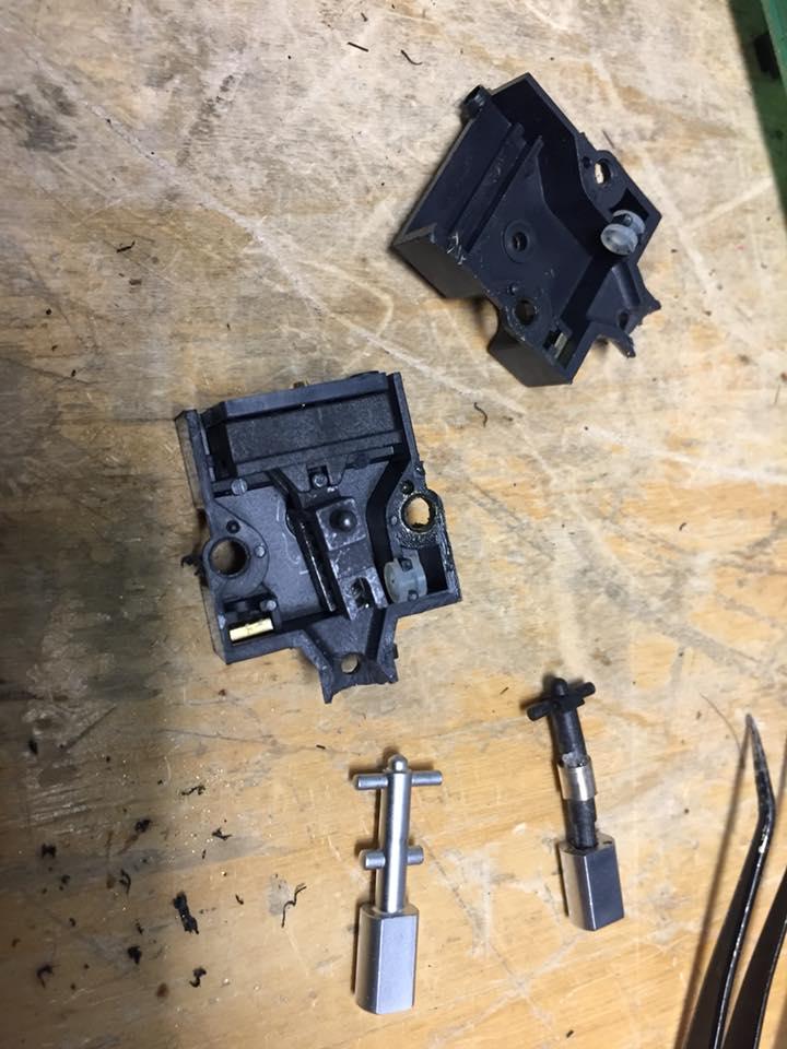 revox schalter reparatur