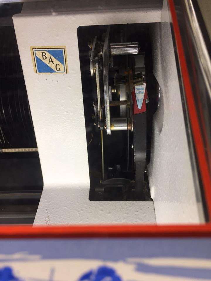 Seeburg Juke Box reparatur 2