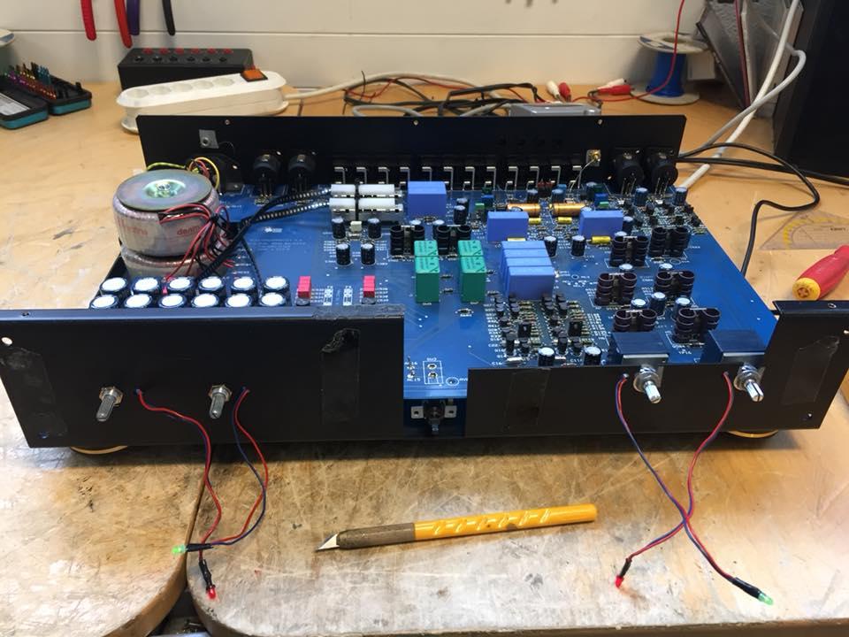 electrocompaniet preamp reparatur