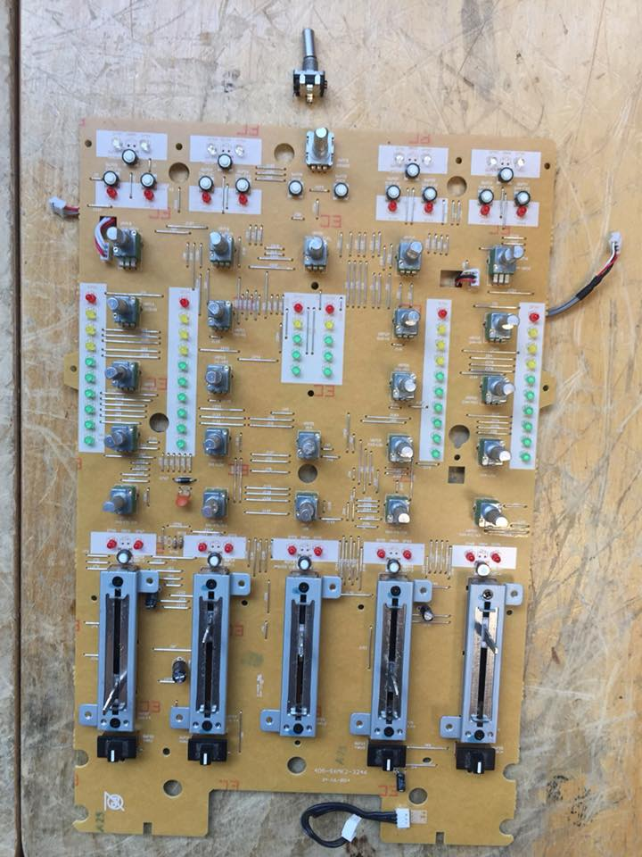 Pioneer DDJ-SX2 reparatur encoder