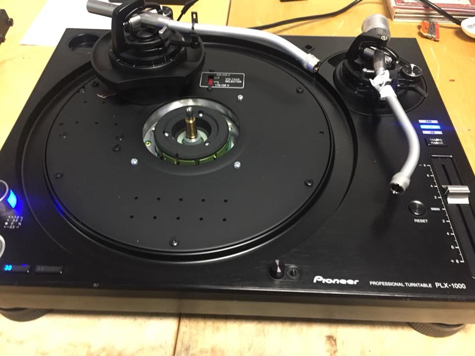 Pioneer PLX-1000 Plattenspieler Reparatur