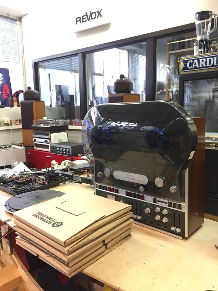 ReVox A700 komplett revidiert kaufen und Cover