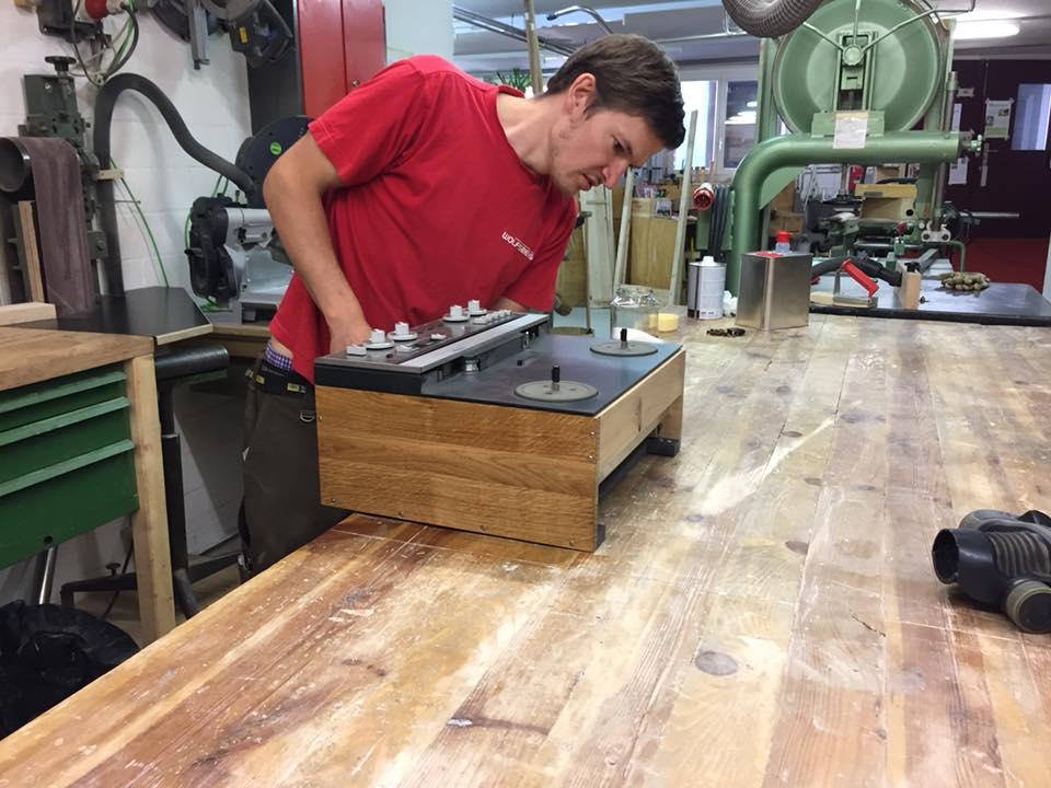 ReVox A77 Massiv Holz gehäuse