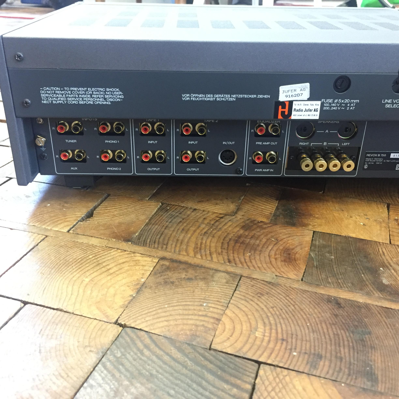 ReVox B750 komplett revision