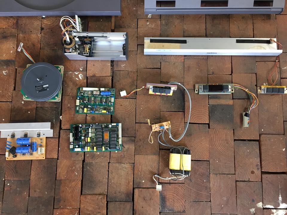 revox b791 revision lackierung reparatur 3