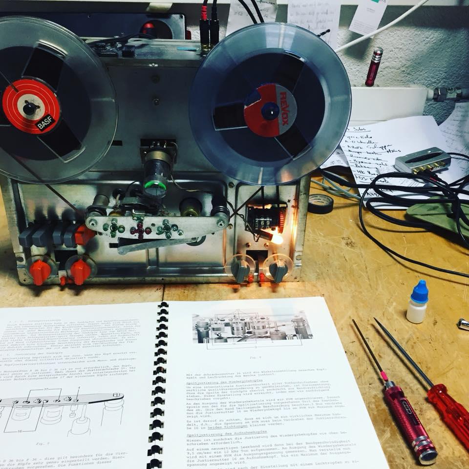 revox d36 reparatur revision