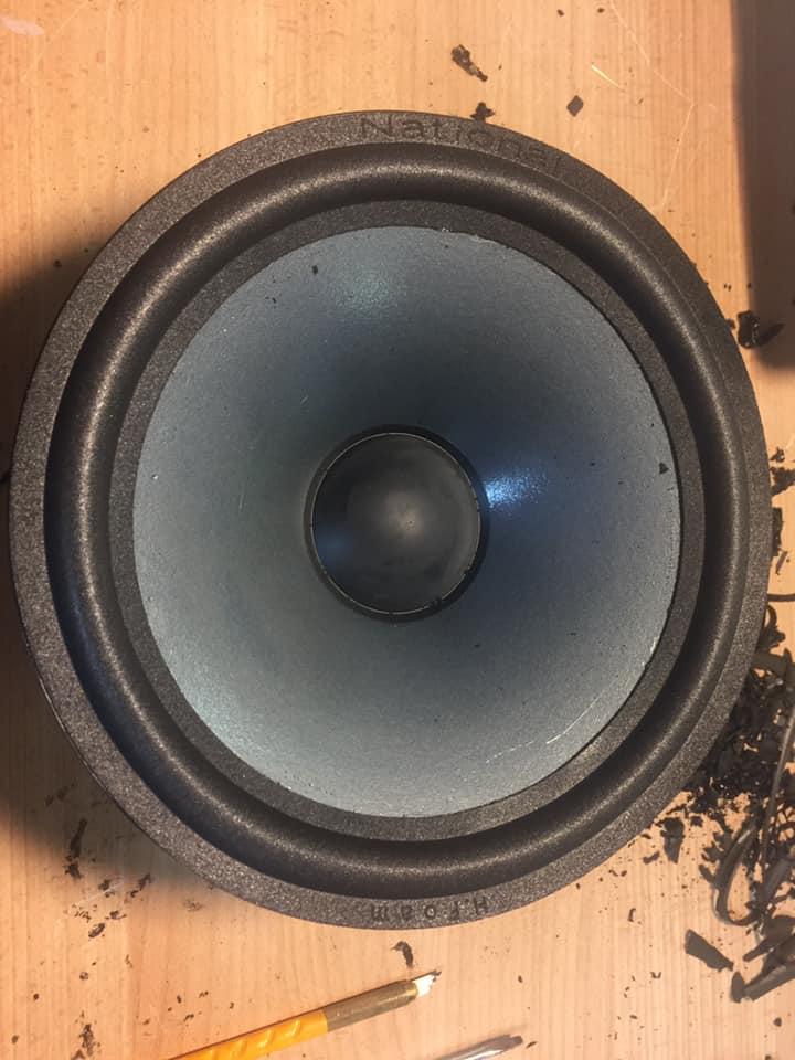 infinity kappa 90 lautsprecher sicken reparatur 6