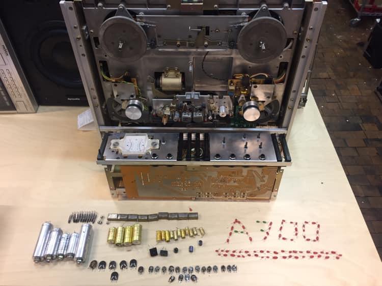 revox a700 revision reparatur tonband maschine