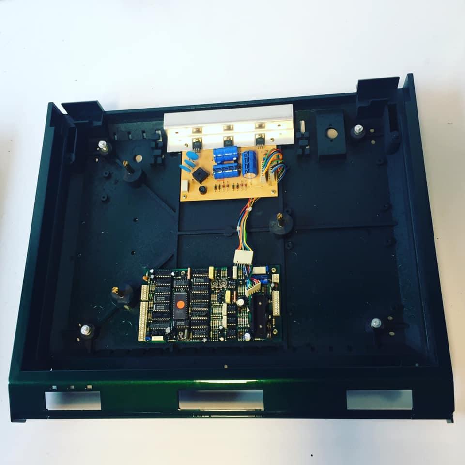 ReVox B791 revision plattenspieler grün 1