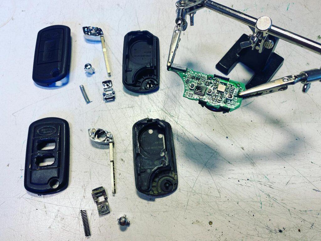 Range Rover Schlüssel Raparatur Autischlüssel