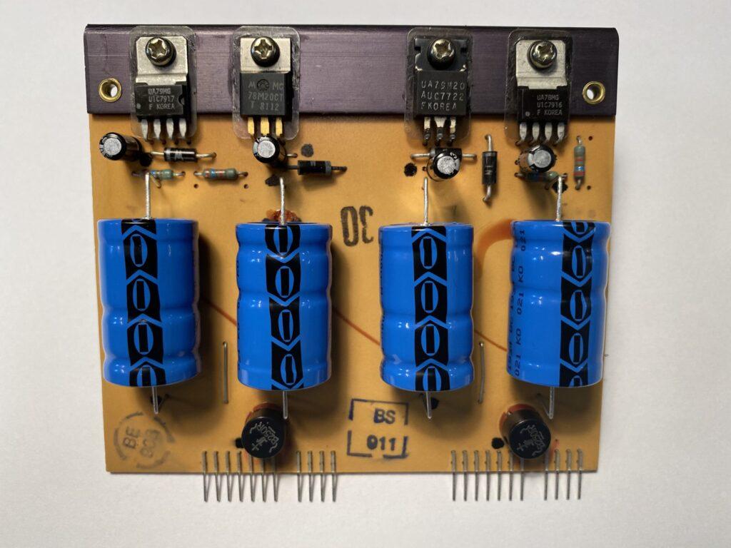 ReVox B750 Das Netzteil nach der Revision
